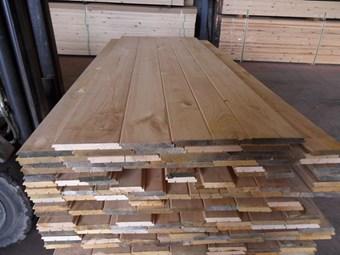 Tabla de casta o a media madera para tejados for Tejados de madera economicos